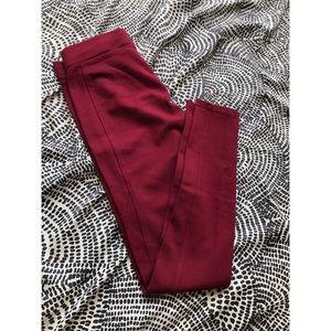 American Rag Maroon Skinny Pants Size XS